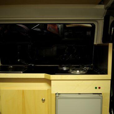 Camper inbouw keuken / aanrecht
